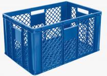 4x Stapelbehälter Lagerkasten Brötchenkorb Kunststoffkiste Lagerkiste 55425