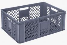 5x Stapelbehälter Lagerkasten Brötchenkorb Kunststoffkiste Lagerkiste 55417