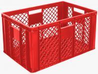 4x Stapelbehälter Lagerkasten Brötchenkorb Kunststoffkiste Lagerkiste 55423