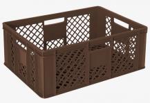 5x Stapelbehälter Lagerkasten Brötchenkorb Kunststoffkiste Lagerkiste 55415
