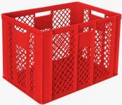 2x Stapelbehälter Lagerkasten Brötchenkorb Kunststoffkiste Lagerkiste 55430