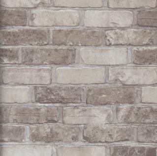vlies tapete bruchstein stein muster braun mauer klinker. Black Bedroom Furniture Sets. Home Design Ideas