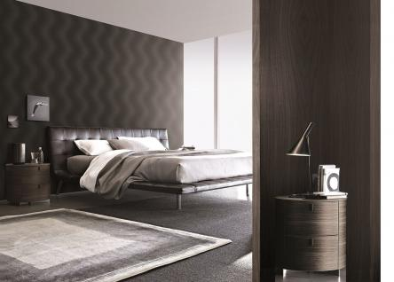 design vlies tapete wellen struktur schwarz blau metallic. Black Bedroom Furniture Sets. Home Design Ideas