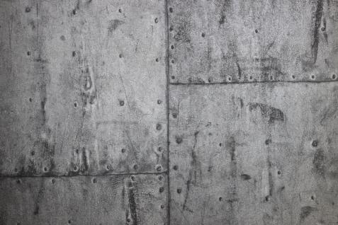 Vlies Tapete Wein Kisten Muster grau Holz decor PE-11-02-0 ...