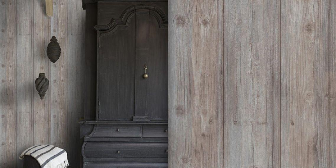 Vlies tapete antik holz muster rustikal braun grau royal wood kaufen bei joratrend e k - Tapete rustikal ...
