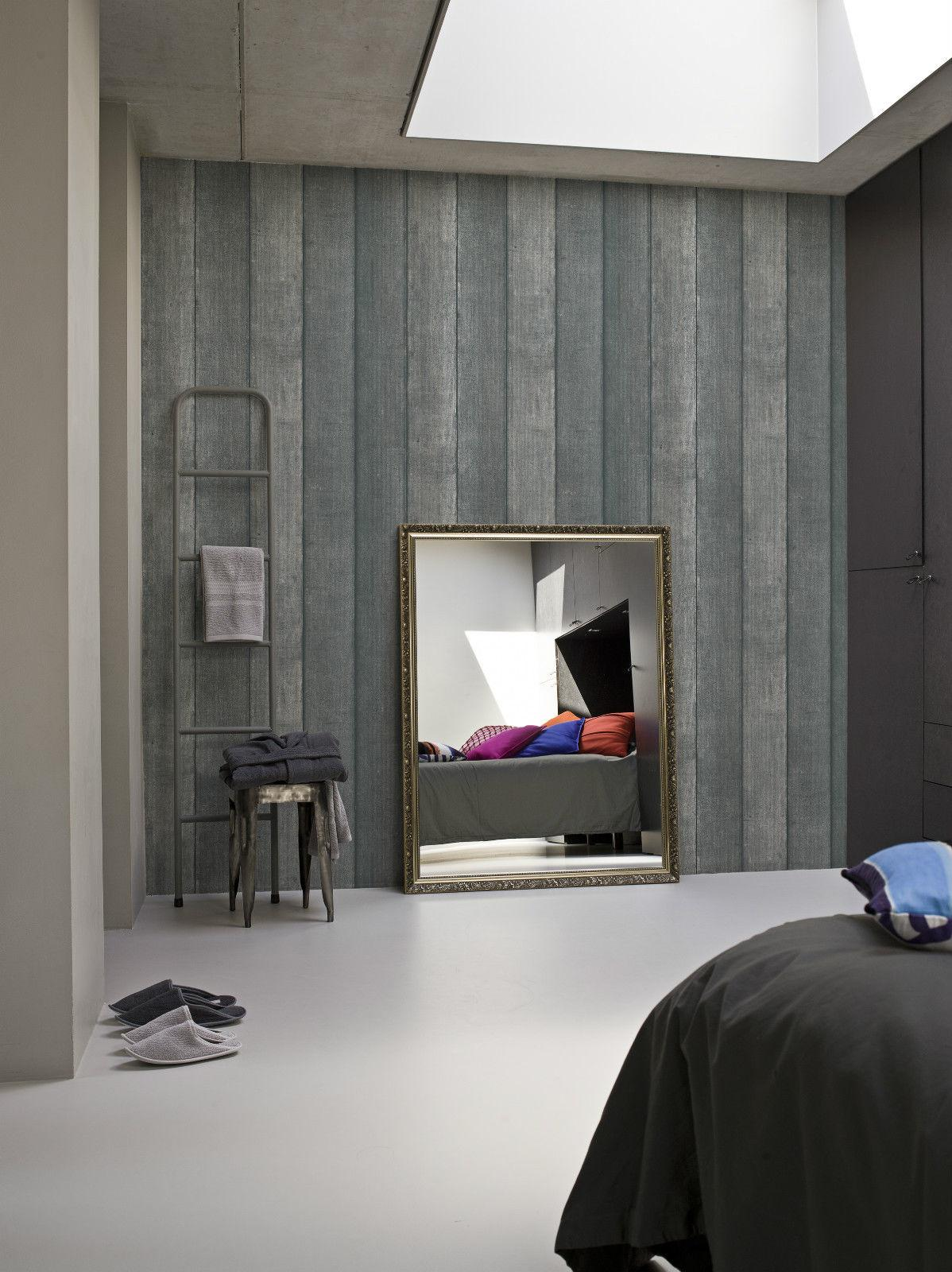 Vlies Tapete Panel Antik Holz Muster BN Wallcoverings Elements ...