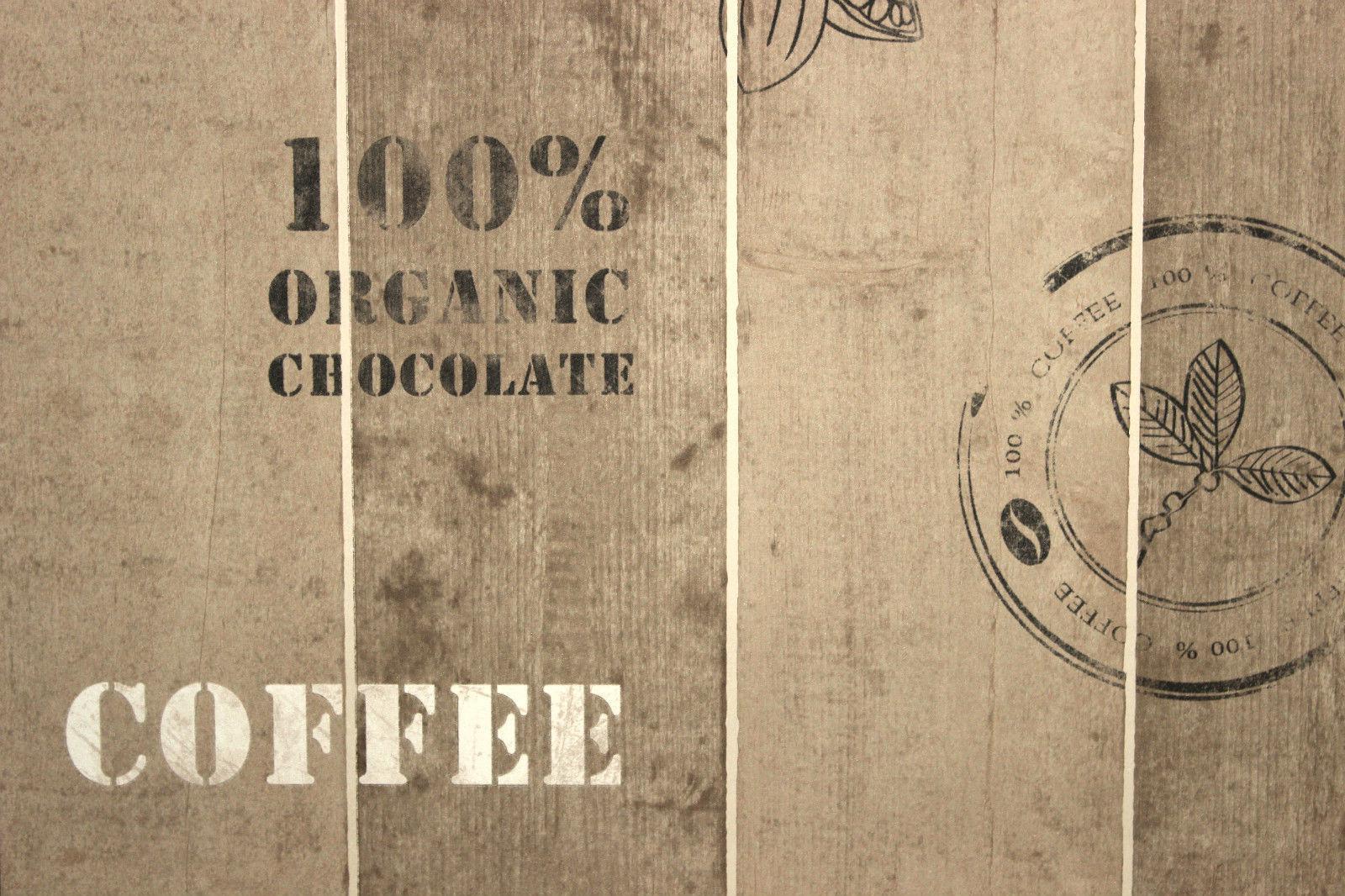 vlies tapete kaffee kakao 8845 10 holz braun beige k che cocktail as creation kaufen bei. Black Bedroom Furniture Sets. Home Design Ideas