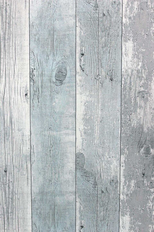 vlies tapete antik holz rustikal verwittert hell blau grau. Black Bedroom Furniture Sets. Home Design Ideas