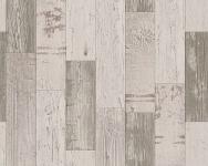 Papier Tapete Antik Holz rustikal creme braun bretter verwittert 30478-1