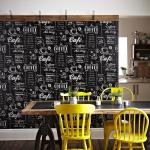 Vliestapete Küchen Tapete Coffee Shop schwarz weiß black & white 32-993 kaffee