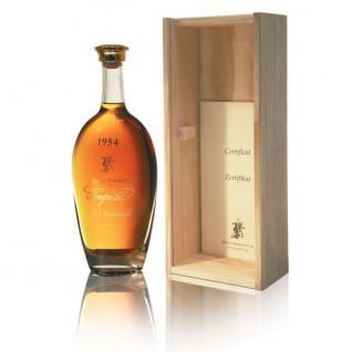 Cognac Albert de Montaubert Jahrgangscognac 1942 - 1990