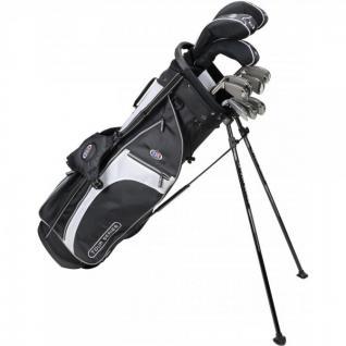 """U.S. Kids Golf Tour Series 10er-Set TS 60"""" mit Standbag (für Mädchen und Jungen)"""