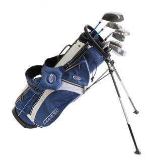 """U.S. Kids Golf Tour Series 10er-Set TS 63"""" mit Standbag (für Mädchen und Jungen)"""