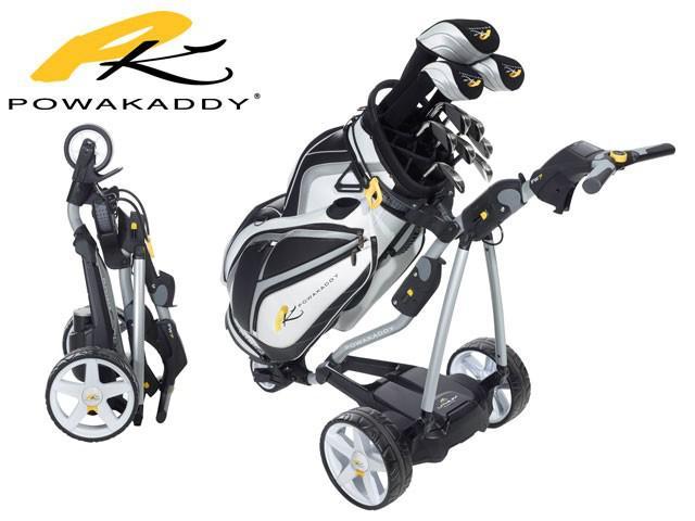 powakaddy golf elektro trolley fw7 mit lithium batterie sl. Black Bedroom Furniture Sets. Home Design Ideas