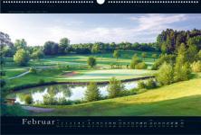 Golfkalender GOLF 2017 - Deutschlands schönste Golfplätze