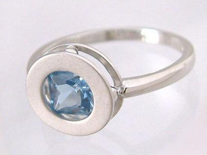 Silber ring blauer stein g nstig kaufen bei yatego for Verlobungsring blauer stein