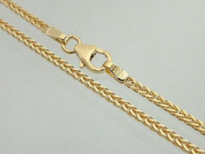TRAUMHAFTE GOLDKETTE 585 DIAMONDCUT MIT KARABINER 60 CM - KETTE GOLD HALSKETTE