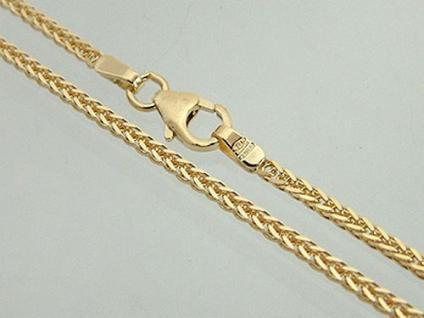 55 CM TRAUMHAFTE GOLDKETTE 585 - MASSIVE KETTE GOLD 14 KT DIAMANTGESCHLIFFEN