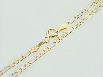FIGAROKETTE GOLD 585 - 45 CM GOLDKETTE - HALSKETTE - KETTE GOLD 14 KT