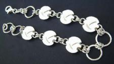 Silberarmband 925 - tolles Armband Silber - 18, 5 cm Armkette massive Silberkette