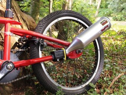 Turbospoke - Der Auspuff fürs Fahrrad