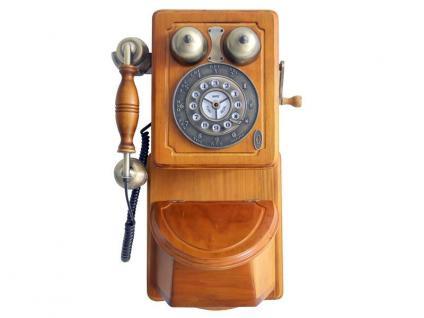Nostalgisches altes Wandtelefon mit moderner Technik - Modell 1879