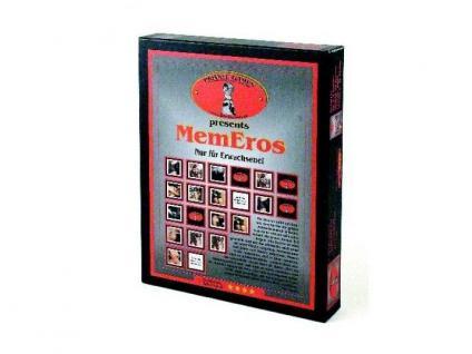 MemEros - Das erotische Memo Spiel - Ab 18!