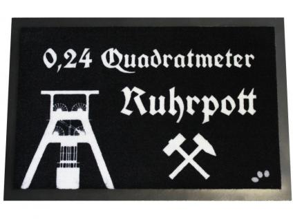 Fußmatte 0, 24 qm Ruhrpott - Vorschau