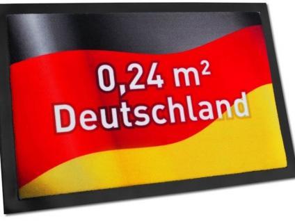 Fußmatte 0, 24qm Deutschland - Vorschau