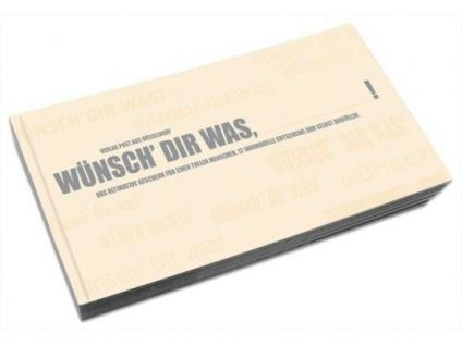 Gutscheinbuch Wünsch dir was - Blanko