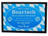 I divertenti Zerbino Mia redn Boarisch / bavarese Tedesco