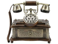 Nostalgisches altes Telefon mit neuer Technik 1903