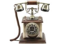 Nostalgisches altes Telefon mit neuer Technik 1900