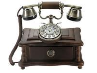 Nostalgisches altes Telefon mit neuer Technik 1920