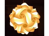 Puzzle Lampe - Lampada Romantica - Größe: S