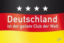 Fußmatte Deutschland ist der geilste Club der Welt