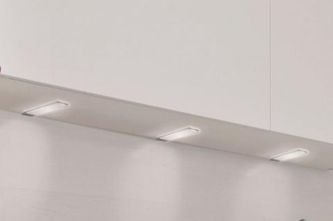LED 3-er Set Küchen Einbau Unterbauleuchte 3 x 3, 4 W Lampe dimmbar Sensor *30581
