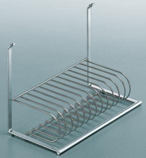 Küchenreling Linero 2000 Tellerhalter 12 Teller Abtropfhalter Ablage *521487
