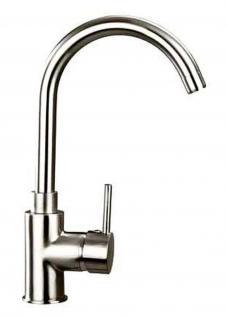 Küchenarmatur 2 Oberflächen Spültischarmatur 360° Schwenkauslauf Wasserhahn 1090