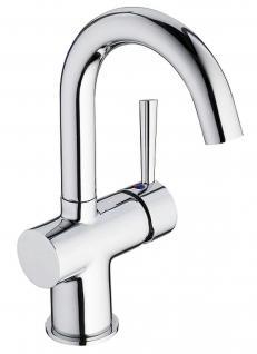 Badarmatur verchromt Waschtischarmatur Waschbeckenarmatur Wasserhahn *0425