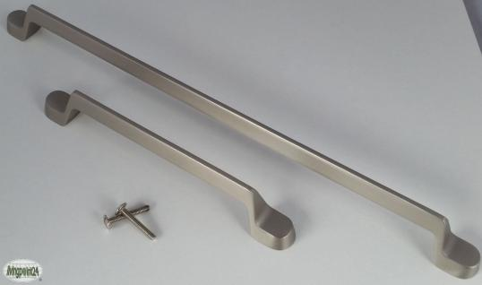 Schrank Tür Möbelgriff BA 160, 320 mm Edelstahloptik matt Bügel Küchengriff *662