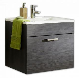 Waschtisch 60 cm Gäste Bad WC Waschplatz Badmöbel Mineralguss Becken *5300-11