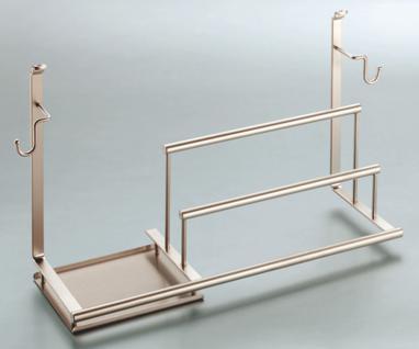 Spülmittelhalter Multifunktionsablage Küchenreling Linero 2000 Tuchhalter 521234