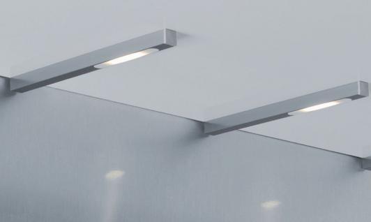 kuchenschrank unterbauleuchte led : LED Einbauleuchte 2-er Set Unterbauleuchte 3, 5W K?chenschrank ...