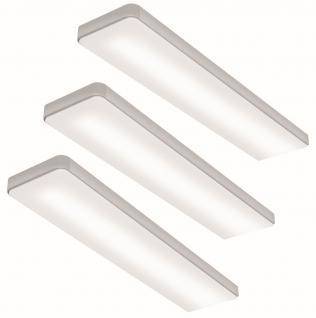 LED 3-er Set Küchen Unterbauleuchte KEY-SCREEN 3 x 6 Watt Dimmer Sensor *555130