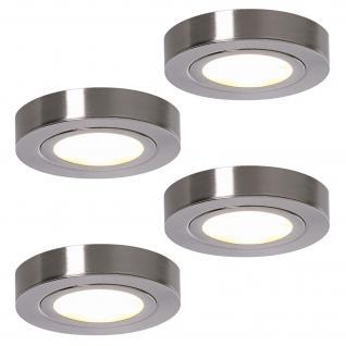 LED 4 x 3 W Set Aufbau Leuchte Strahler Licht ALEXA Schrank Unterbauspot *552092
