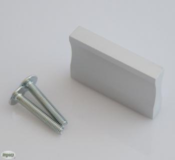 Kommoden-/Möbelgriff BA 32 mm Silber eloxiert Schrank Tür Küchengriff *1071-32