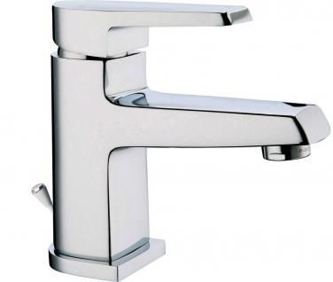 Badarmatur verchromt Waschtischarmatur Einhandmischer Waschbeckenarmatur *0500