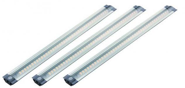LED Küchen Unterbau Lampe Lichtleiste 3 x 3 Watt Langleuchte je 300 mm *30562