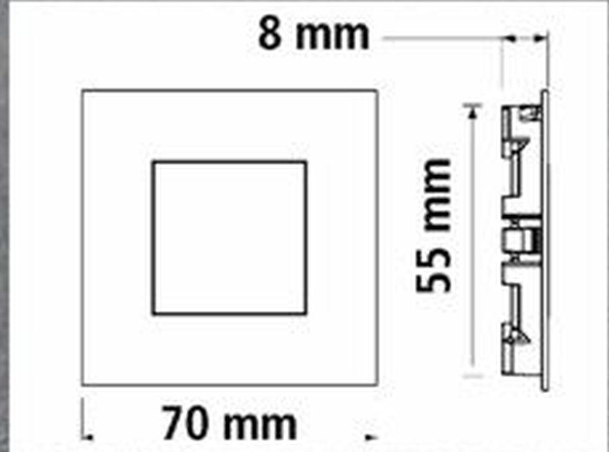 35w 4 er set led edelstahl sockel einbauleuchte küche 4 x 0 35w